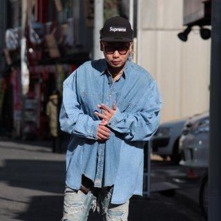 re:new(リニュー)リーバイス ヴィンテージ リメイク ワイド&ビック デニム シャツ<br>re:new Levi's Vintage Remake Big&Wide Shirts 【g】