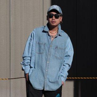 re:new(リニュー)リーバイス ヴィンテージ リメイク ワイド&ビック デニム シャツ<br>re:new Levi's Vintage Remake Big&Wide Shirts 【7】