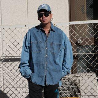 re:new(リニュー)リーバイス ヴィンテージ リメイク ワイド&ビック デニム シャツ<br>re:new Levi's Vintage Remake Big&Wide Shirts 【10】
