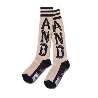 ANDSOX(アンドソックス) パイル ロング アンドソックス<br>ANDSOX PILE LONG ANDSOX