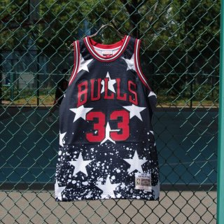 MITCHELL&NESS(ミッチェル&ネス)独立記念日限定モデル<br>4TH OF JULY QUICKSTRIKE BULLS SCOTTIE PIPPEN