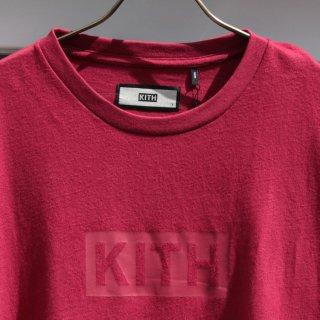 KITH NYC (キス ニューヨーク)ボックスロゴ 半袖 Tシャツ<br>KITH BOX LOGO TEE