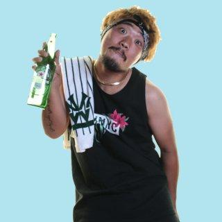 ダブルエヌワイシー フラワー ボックス ロゴ タンクトップ<br>W NYC FLOWER BOX LOGO TANK-TOP