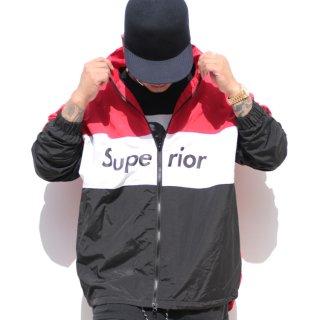 スペリオール ロゴ トラックスーツ ナイロンジャケット<br>Superior Logo Track suits Nylon jacket