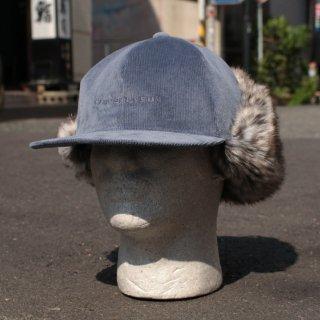 ブルーイ コーデュロイ ハンティング キャップ フリース ハーフジップ パーカー<br>BLUEY CORDUROY HUNTING CAP