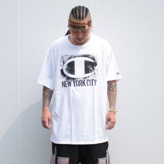 チャンピオン ニューヨークシティ 半袖 Tシャツ<br>CHAMPION NEWYORK CITY S/S TEE