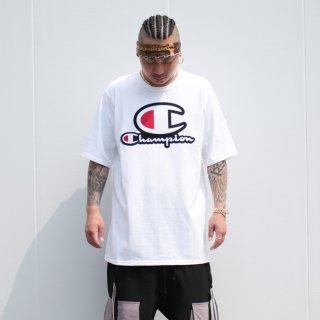 チャンピオン スタックド Cロゴ 半袖 Tシャツ<br>CHAMPION STACKED C-LOGO  S/S TEE
