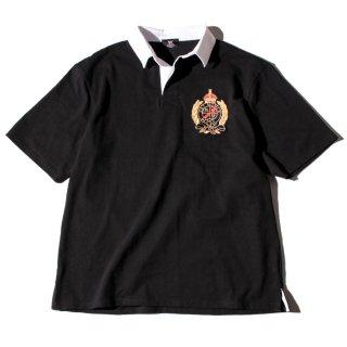ダブルエヌワイシー エールクレストロゴ ラガーシャツ<br>W NYC DRY YALE CREST LOGO LAGER SHIRTS