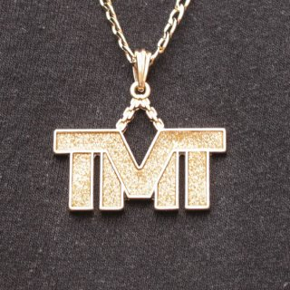 JULY 29(ジュライ トゥエンティー ナイン)TMT トップ ゴールド チェーン ネックレス<br>JULY 29 TMT TOP GOLD CHAIN NECKLACE
