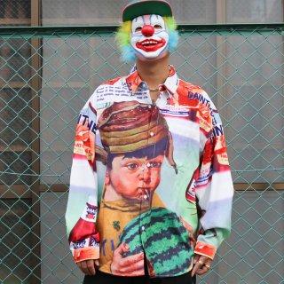 デジーン アンゴッド シティー 長袖 シャツ<br>Dezzn Ungod Shirt