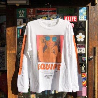 GOTHAM N.Y.C.(ゴッサム ニューヨークシティ)オリジナルロゴ ロングスリーブTシャツ ロンティー<br>GOTHAM N.Y.C. ORIGINAL LOGO L/S TEE