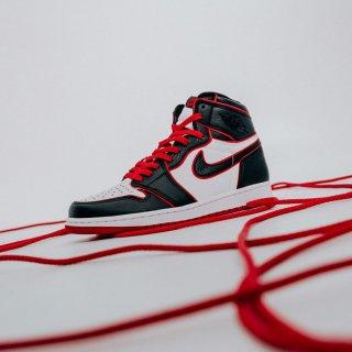 """ナイキ エア ジョーダン 1 ハイ OG ブラッドライン<br>Nike Air Jordan 1 High OG """"Bloodline"""""""