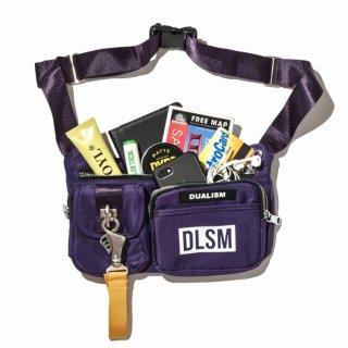 DLSM(ディーエルエスエム) クロス ボディーバック ショルダー ポーチ