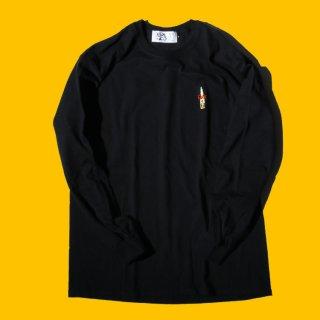 ハイブランド ファック コロナ 長袖 Tシャツ<br>Hi BRAND FUCK CORONA L/S TEE