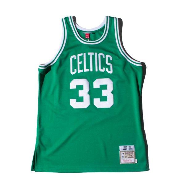 MITCHELL&NESS(ミッチェル&ネス)セルティックス ラリーバート ジャージ<br>Larry Bird 1985-86 Authentic Jersey Boston Celtics