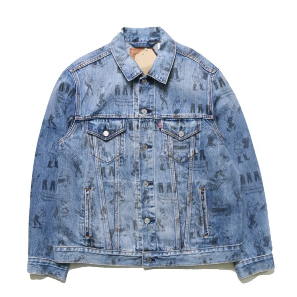 LEVI'S VINTAGE FIT ORIGINAL DESIGN DENIM JACKET