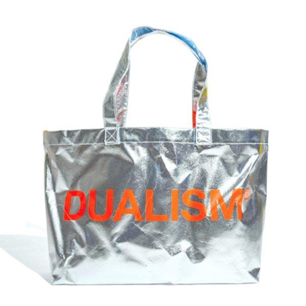 DUALISM PVC BIG TOTE BAG