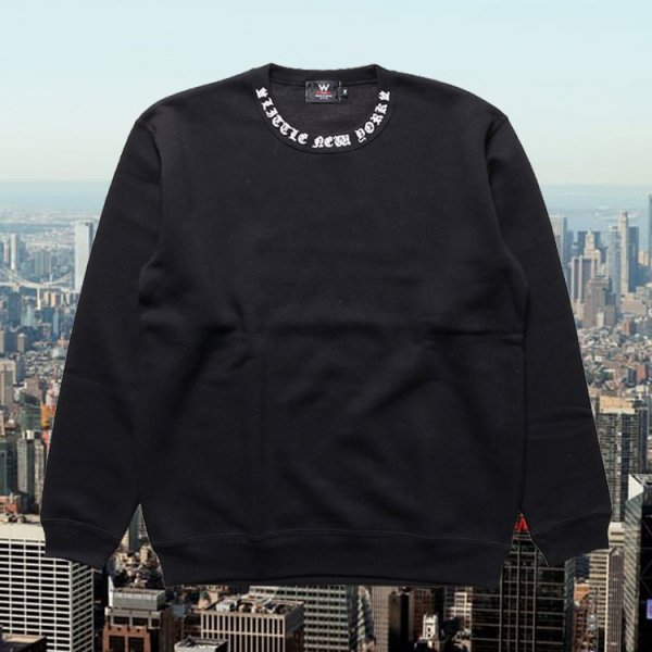 W NYC LITTLE NEWYORK LOGO CREWNECK SWEAT