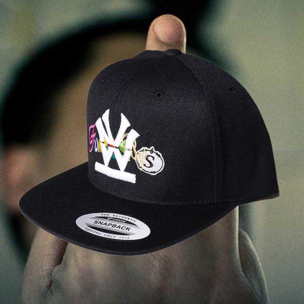 W NYC HERITAGE LOGO FUCK SNS SNAPBACK CAP
