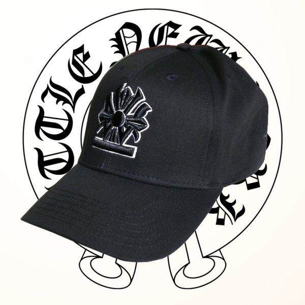 W NYC CROSS HERITAGE LOGO STRAPBACK CAP