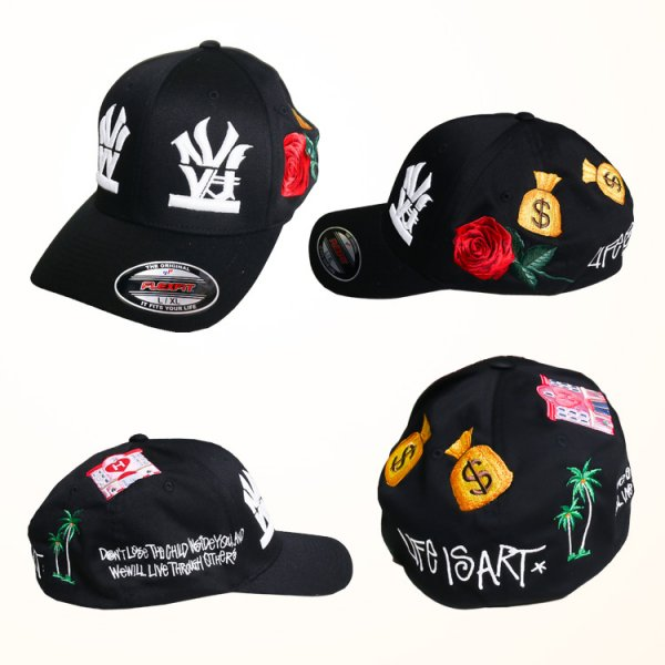 W NYC HERITAGE LOGO 2020 ALL STAR STRAPBACK CAP
