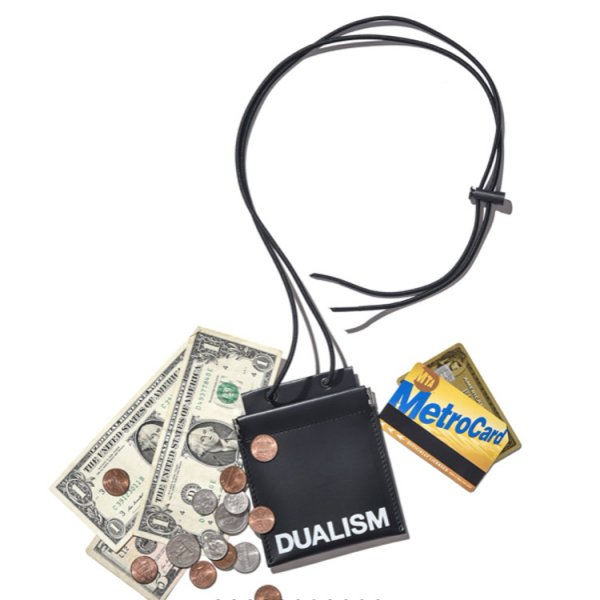 DUALISM LOGO NECK WALLET
