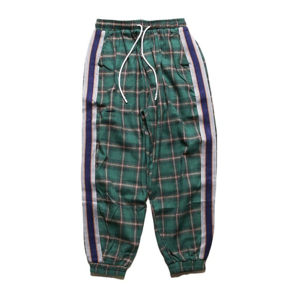 W NYC CLEAR WAPPEN CHECK PANTS