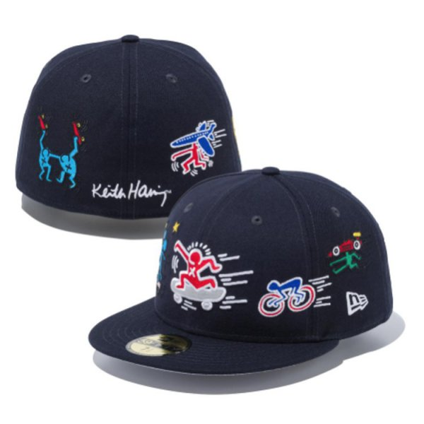 NEW ERA 59FIFTY KEITH HARING