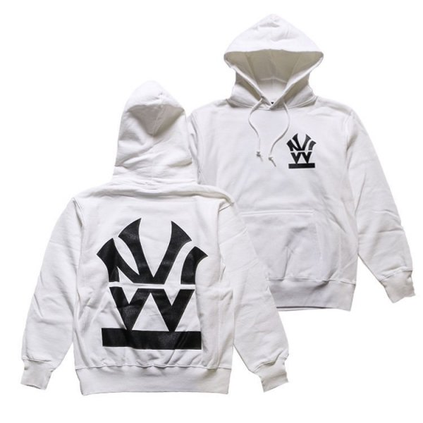 W NYC HERITAGE LOGO PULLOVER HOODIE
