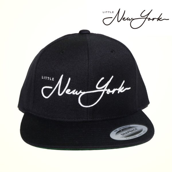 W NYC LITTLE NEW YORK LINE LOGO SNAPBACK CAP