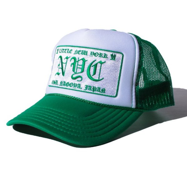 W NYC LITTLE NEW YORK LOGO MESH CAP