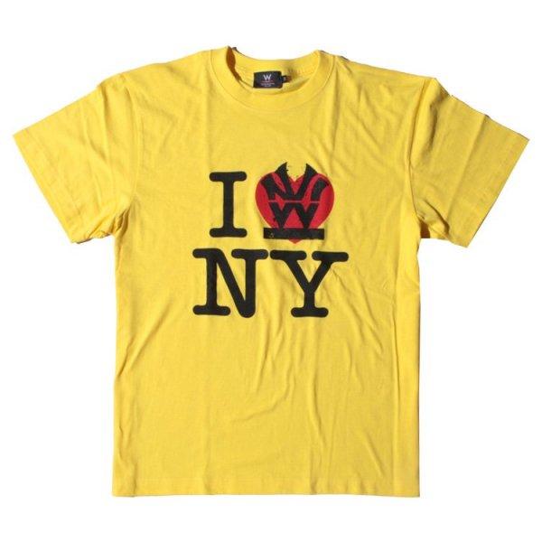 W NYC I LOVE NY LOGO S/S TEE