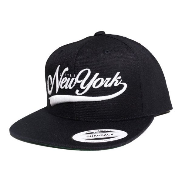 W NYC SCRIPT LOGO SNAPBACK CAP