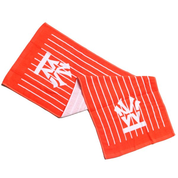 W NYC HERITAGE LOGO PIN STRIPE FACE TOWEL