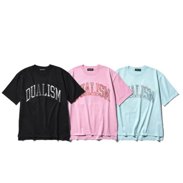 DUALISM PAISLEY COLLEGE LOGO TEE (COLOR BASE)