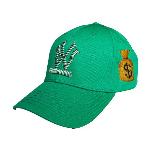 W NYC CANDY LOGO DOLLER STRAPBACK CAP