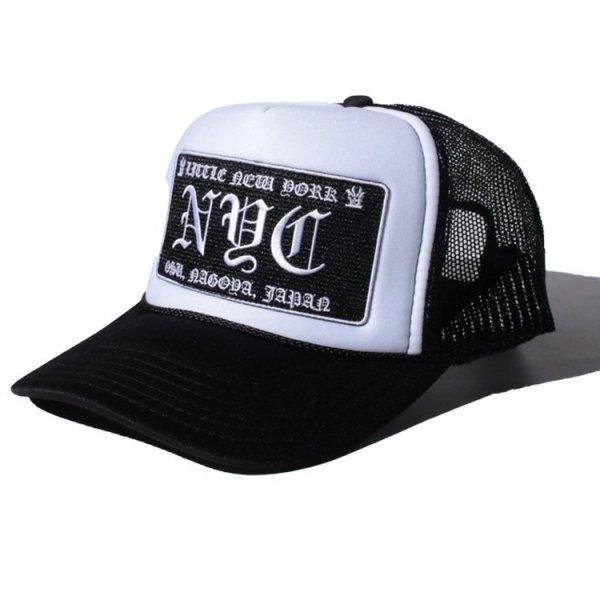 W NYC LITTLE NEW YORK LOGO MESH CAP