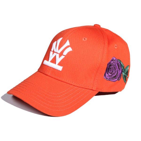 "W NYC HERITAGE LOGO ""ROSE"" STRAPBACK CAP"