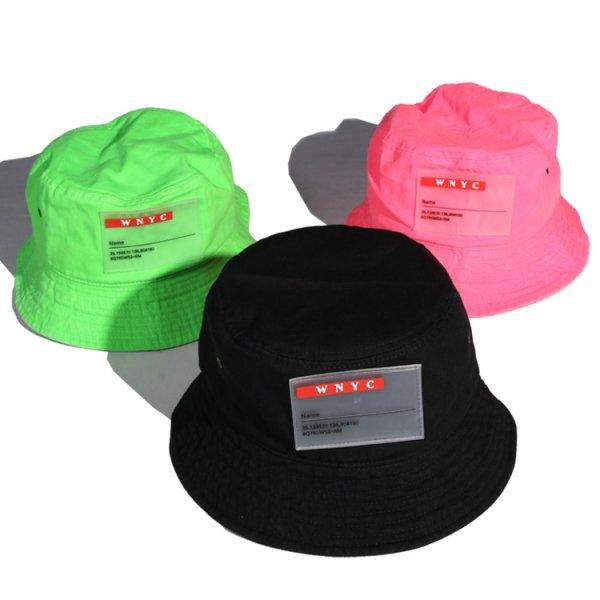W NYC CLEAR WAPPEN BUCKET HAT