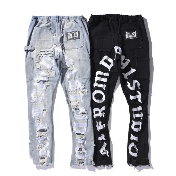 A1 FROM DAY1 STUDIO × DUALISM COLLAB DENIM PANTS
