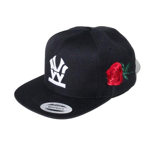 "W NYC HERITAGE LOGO ROSE"" SNAPBACK CAP"
