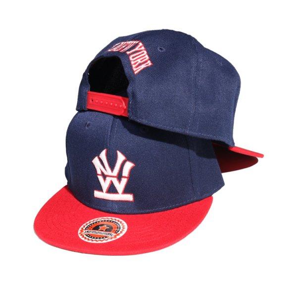 W NYC HERITAGE LOGO  BI COLOR SNAPBACK CAP