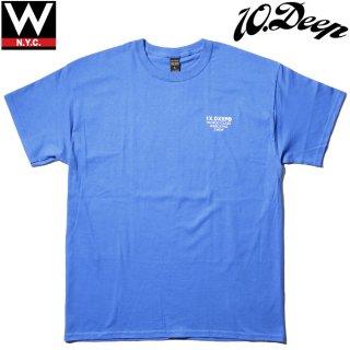 10 DEEP(10 ディープ) オリジナルロゴ ショートスリーブ 半袖 Tシャツ