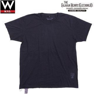 THE CALMAN HENRY CLOTHING CO. ザ カルマン ヘンリー クロージング クルーネック 半袖 Tシャツ