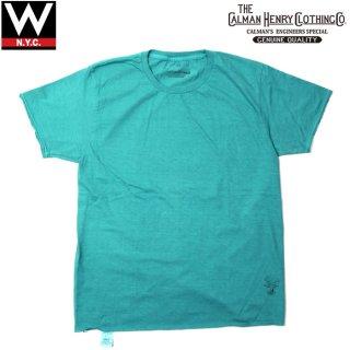 THE CALMAN HENRY CLOTHING CO.(ザ カルマン ヘンリー クロージング) クルーネック 半袖 Tシャツ