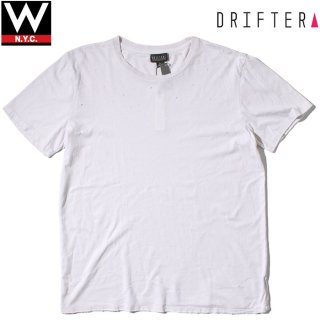 DRIFTER CALIFORNIA(ドリフター カリフォルニア) クラッシュ加工 半袖 Tシャツ