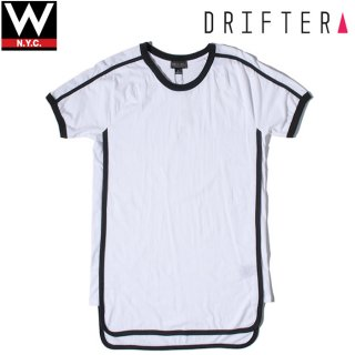DRIFTER CALIFORNIA(ドリフター カリフォルニア) エース サイド パネル 半袖 Tシャツ