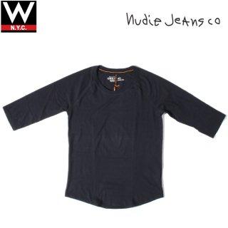 Nudie Jeans(ヌーディージーンズ) オーガニック コットン 五分袖 Tシャツ