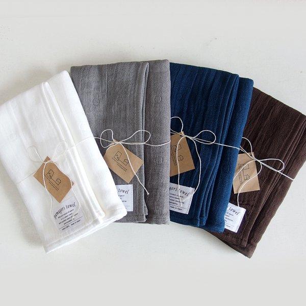 6重織りガーゼタオル gamagori towel