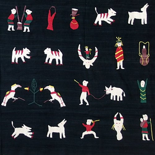 ナガ族 手刺繍タペストリー 02